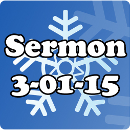 The weather was interesting again for 3-01, but you can read the sermon!